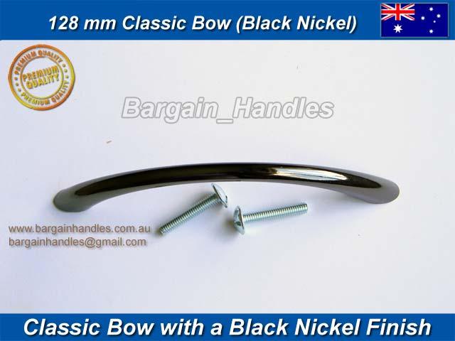 128 bow black nickel