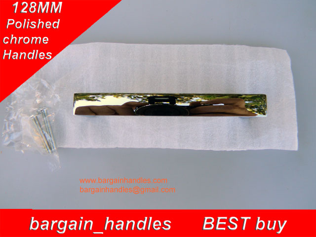 128mm Polished Square Handle