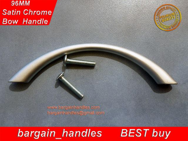 [96mm Bow Handles (Satin Chrome)]