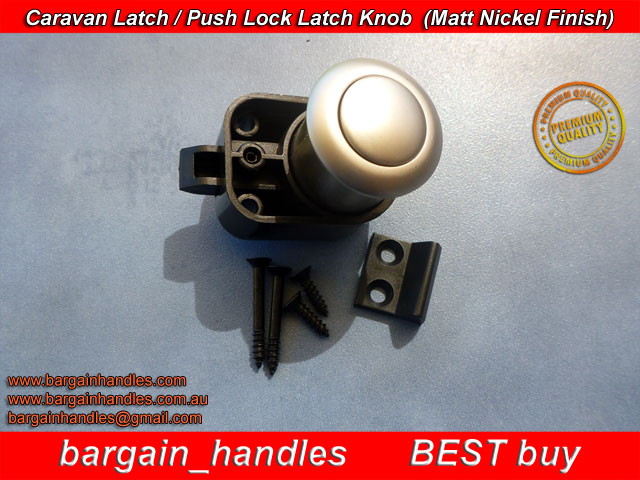 [Armstrong Push Knob With Latch 5100Z.MN ( Matt Nickel )]
