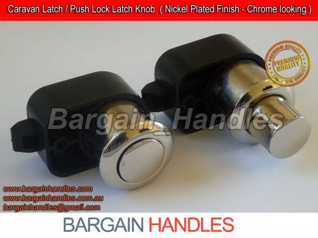 [Armstrong Push Knob With Latch 5100Z.MN ( Matt Nickel )]